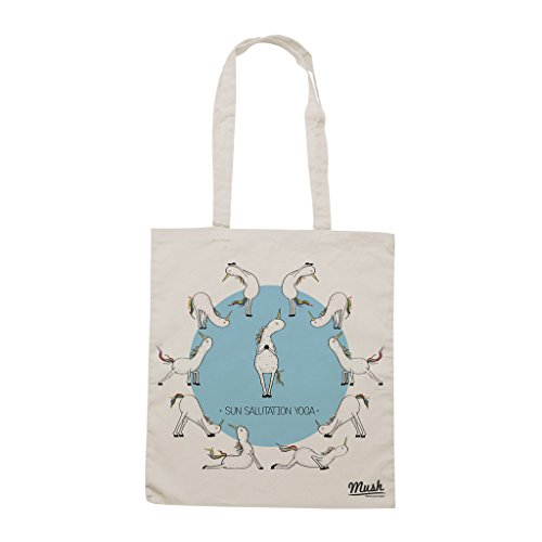 Borsa UNICORNI YOGA SALUTO AL SOLE - Sand - FILM by Mush Dress Your Style