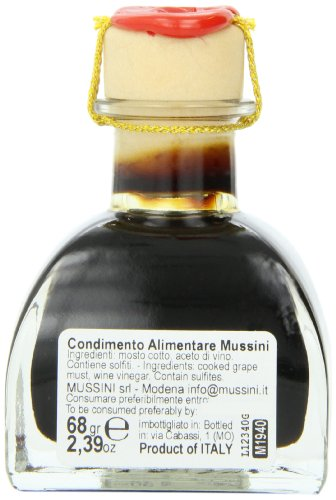 Mussini 100 year balsamic vineagr, il grande vecchio, 2. 39 ounce glass bottle 4 2. 39 ounce glass bottle the ultimate in modena balsamic vinegars from modena italy