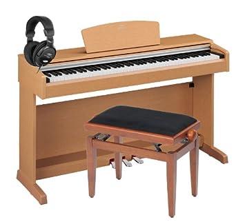Yamaha ydp de 141 C Arrio cereza Set Incluye Piano Banco + Auriculares: Amazon.es: Instrumentos musicales
