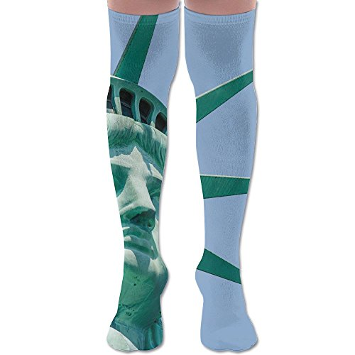 America Statue Of Liberty Soccer Youth Knee High Socks