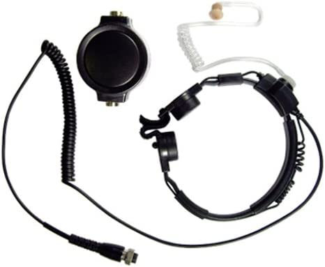 Throat Earpiece//headset for Motorola Radio Talkabout FRS T5400 T5100