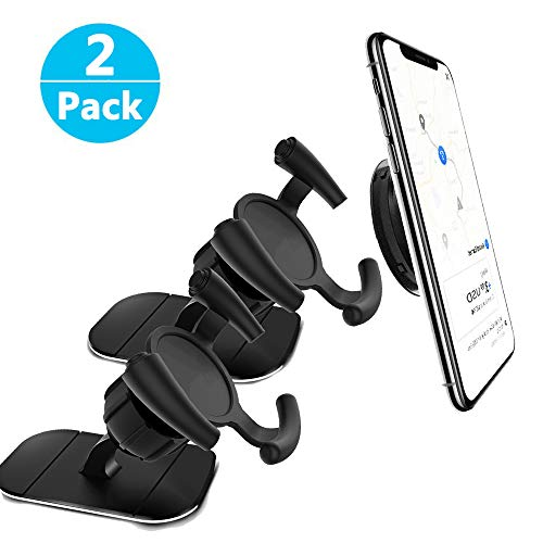 Guiling Air Vent Clip Car Mount for All Pop Grips, Adhesive Mount for Cell Phone Car Holder Phone or Pad with Pop Grips [2Pack]