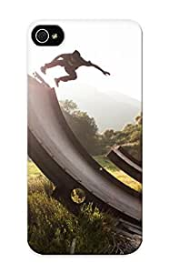 Awesome Case Cover/iphone 5/5s Defender Case Cover(skateboarding In The Nature )