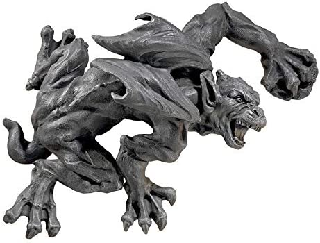 Design Toscano Slither and Squirm Gargoyle Wall Sculpture, Greystone
