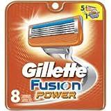 Gillette Fusion Power razor blades refills, pkg of 8