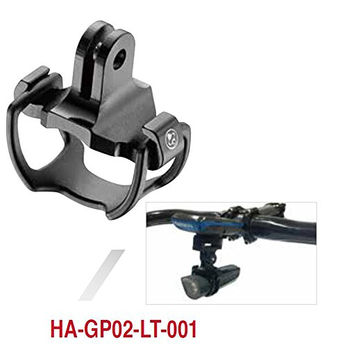 FOURIERS HA-GP002 Bike Light Mount Holder for Garmin Bryton Computer Mounnt & Gopro Adapter Cateye Alloy 6061-t6