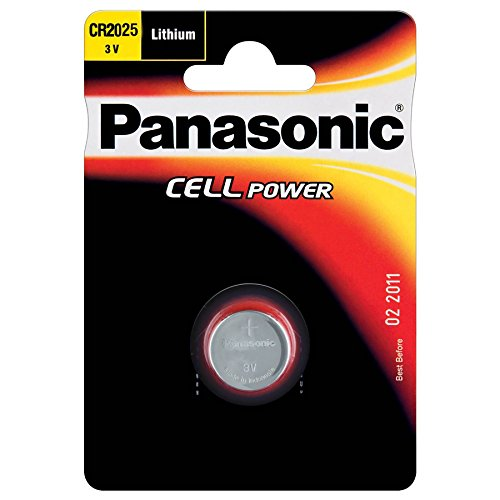 2 opinioni per Panasonic CR2025- LITHIUM COIN Alkaline 3V non-rechargeable battery-