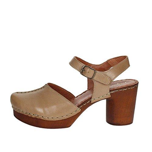 002 Sandale Pregunta Marron Femme Cuir Pq9180311 aCU5U8