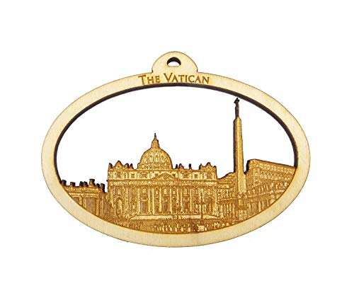 Personalized Vatican Ornament