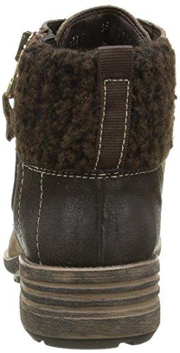 Grey Taupe Shaft Lined Warm Boots and Short Kombi 469 Josef 28 Bootees Seibel Sandra Women's W7Z0FZAPq