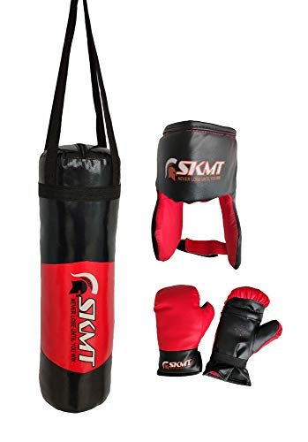 SKMT Kids Boxing kit Black Red (Punching Bag, Gloves and Headgear, Age 2-8 Years) Price & Reviews