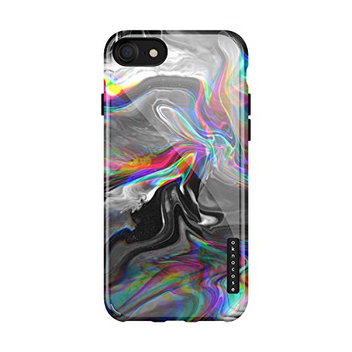 iPhone 8 & iPhone 7 case Marble, Akna Collection Flexible Silicon Cover for Both iPhone 8 & iPhone 7 (893-U.S)]()