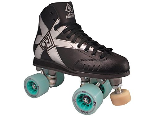 Antik Spyder Quad Roller Derby Speed Skates (Mens 4 / Ladies 5) by Antik