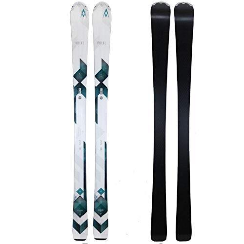 Volkl 2017 Flair 7.4 Womens skis with Tyrolia SLR 7.5 AC bindings