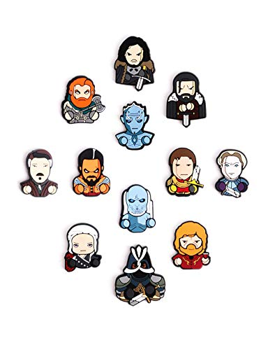 Exclusive Game Of Thrones Refrigerator Magnets-Set of 12 Game Of Thrones Characters -