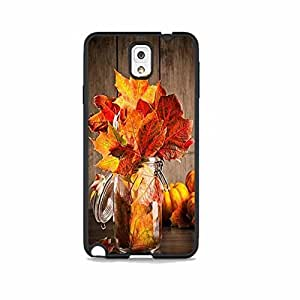 Fall Leaves Jar Galaxy Note 3 Rubber Phone Case