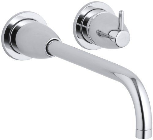 Falling Water Wall-Mount Lavatory Faucet Trim, Polished Chrome by - Kohler K-T197-CP