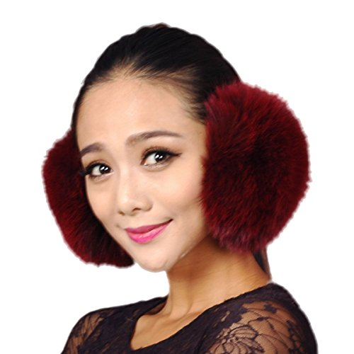 URSFUR Fox Fur Empress Earmuffs Multicolors (Fox Fur Earmuffs)
