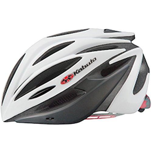 OGK KABUTO(オージーケーカブト) ヘルメット ALFE マットホワイトブラック サイズ:M/L   B01G8B81XM