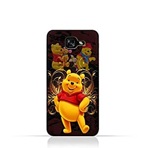 Samsung Galaxy A7 2017 TPU silicone Protective Case with Winnie the Pooh Design