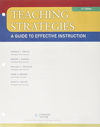 Bundle: Teaching Strategies: A Guide to Effective Instruction, Loose-Leaf Version, 11th + LMS Integrated MindTap Education, 1 term (6 months) Printed Access Card