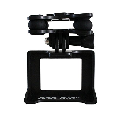 BTG Camera Holder Anti-shock Gimbal Mount Adapter for Syma X8C X8G X8W X8HC X8HW X8HG RC Quadcopter - Compatible with GoPro 3 3+ 4 Camera, Xiaomi Yi Action Camera, SJCAMS SJ4000 SJ7000 Action Camera