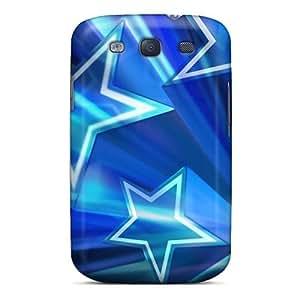 Elaney Galaxy S3 Hybrid Tpu Case Cover Silicon Bumper Dallas Cowboys by icecream design