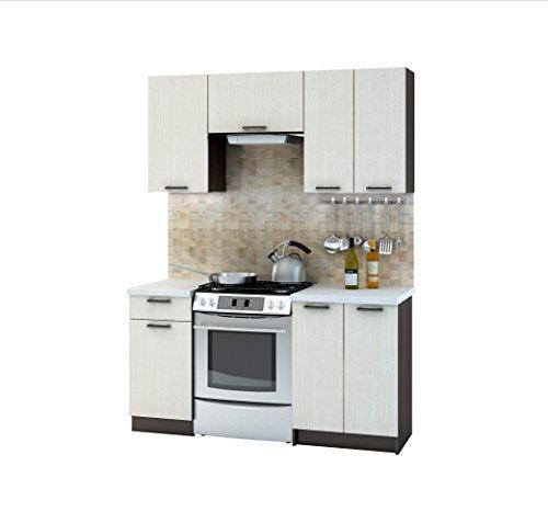 Küche Riviera 160 Cm Küchenzeile Einbauküche Küchenblock
