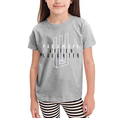 NancyA Paramore After Laughter Child's Tshirt for Girls & Boys Gray 2T