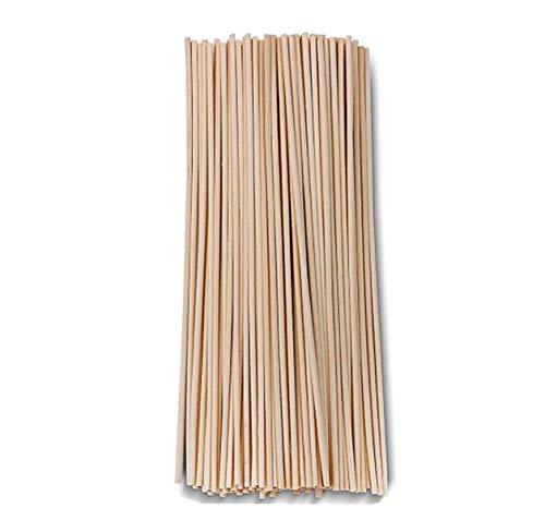 ASTRQLE 50PCS Rattan Wood Fiber Reed Diffuser Volatile Bar Sticks Rod for Perfume Aroma Fragrance Essential Oil Diffuser Bedroom Replacement