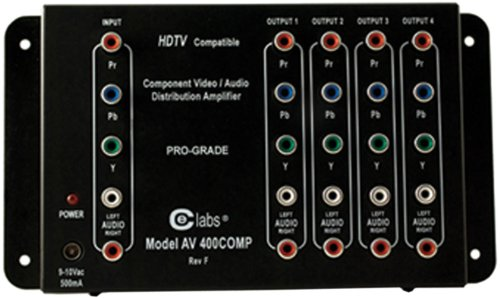 Av Distribution Amp - Cable Electronics Labs AV400COMP A/V Switcher