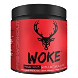 Bucked Up - HIGH STIM Pre Workout - Best Tasting - Focus Nootropic, Pump, Strength and Growth, 30 Servings (Blue Raz)