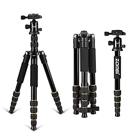 ZOMEI Q666 Professional Aluminium Camera Tripod with Ball Head for DSLR Camera
