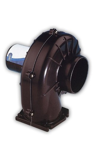 Jabsco 34739-0010 Flange Mount Blower, 3 inch, 150 CFM, 12 Volt DC - Jabsco Flange Mount Blower