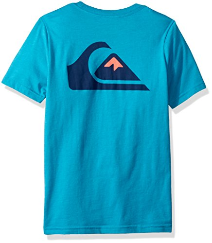 Quiksilver Big Boys' Vice Versa Youth Tee Shirt, Typhoon Heather, M/12 by Quiksilver (Image #2)