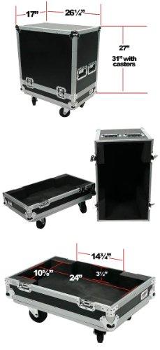 OSP Cases | ATA Road Case | Amplifier Case for Fender Hot Rod Deville 410 | - Connector Dev