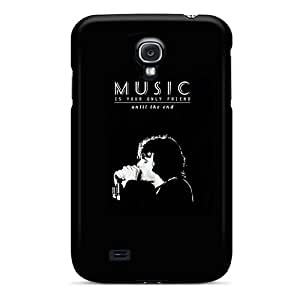 Hot JEqBlSt8180IhhTX The Doors Music Is Your Only Friend Tpu Case Cover Compatible With Galaxy S4