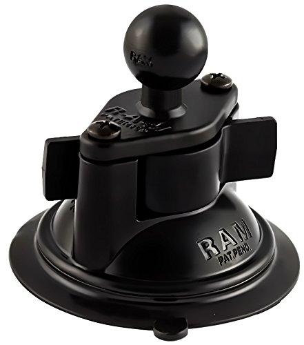 Ram Mount 3.25-Inch Diameter Suction Cup Twist Lock Base (Black)