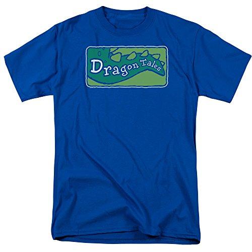 TV Show Logo -- Dragon Tales Adult T-Shirt