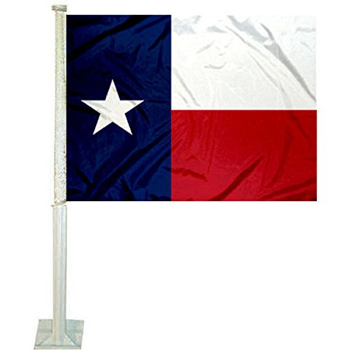 College Flags and Banners Co. State of Texas Flag Car Flag