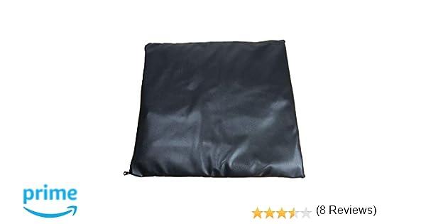 Cojín antiescaras de gel para silla de ruedas 42x42x4cm sin orificio: Amazon.es: Hogar