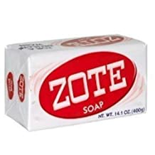Zote Pink Soap Pack of 3 Total 14.1 oz by Zote