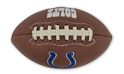 Jarden Sports Licensing Official National Football League Fan Shop Authentic NFL AIR IT Out Mini Youth Football. Great for Pick up Game with The Kids. (Indianapolis Colts)