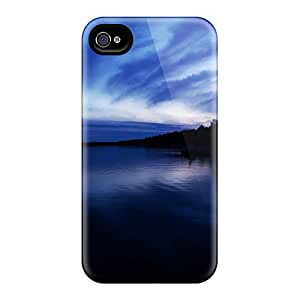 Iphone High Quality Tpu Case/ Hd Lake JMi6197qTGl Case Cover For Iphone 4/4s