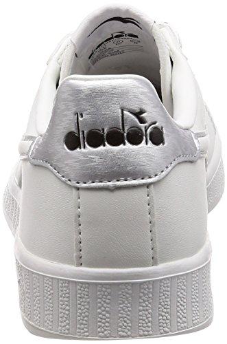 Diadora Sneaker Uomo P Grigio Metallizzato Argento Game Wn rzxzq8wp
