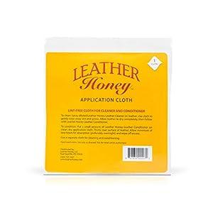 Leather Honey, chiffon de nettoyage en microfibre non pelucheux, idéal pour une utilisation avec les meilleurs produits…