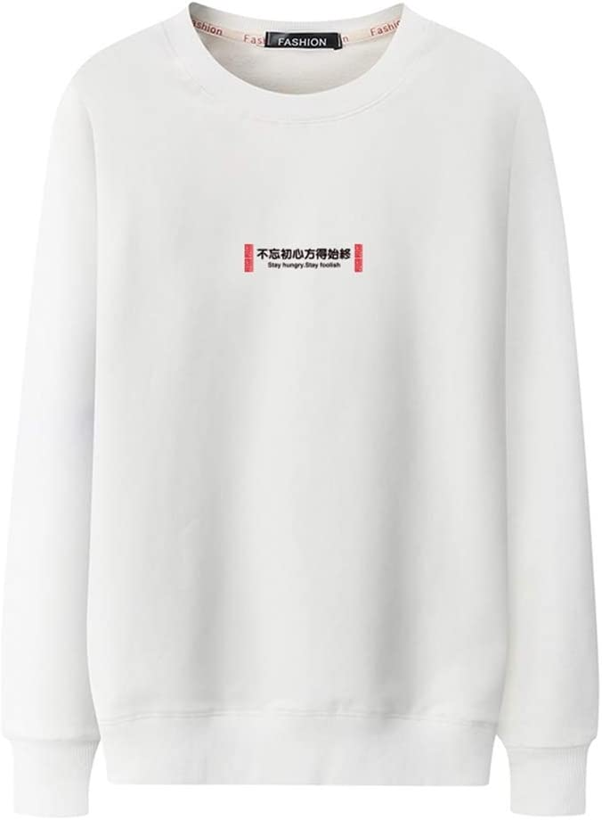 WUDUHUI Cuello De SuéTer para Hombre XL. Camisa De AlgodóN Suelta ...