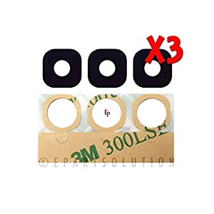 ePartSolution_Lot of 3 Samsung Galaxy S7 G930 l Galaxy S7 Edge G935 Camera Cover Lens Glass Replacement Part USA Seller