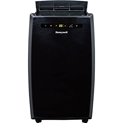 MN Series 12,000 BTU Portable Air Conditioner with Remote Control in Black