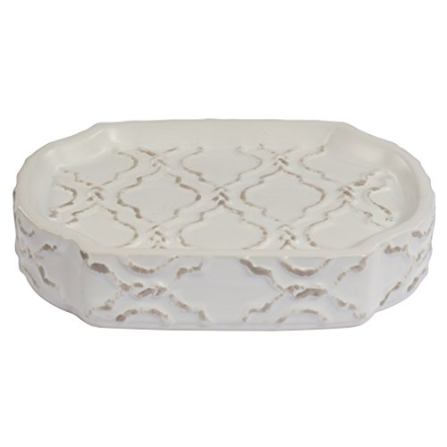 Adams Modern Rug (Jennifer Adams Chainlink Soap Dish, Ceramic)